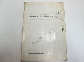 1987 Mercedes 107 124 126 201 Passenger Cars PRELIM INTRO into Service M... - $118.75