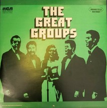 THE GREAT GROUPS _ 2 RECORD SET - $9.89