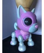 DUCHESS Husky Interactive dog ZOOMER ZUPPS Tiny Pups Litter 4 lights sou... - $9.89
