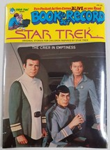 "Star Trek 1979 Peter Pan Book & Record Set Brand New ""The Crier in Empti... - $19.58"