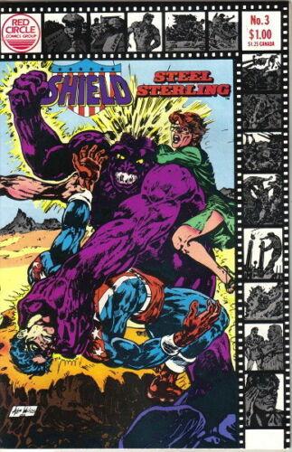 Shield-Steel Sterling Comic Book #3 Archie 1983 VERY FINE/NEAR MINT UNREAD