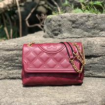 NWT Tory Burch Fleming Soft Convertible Shoulder Bag - $449.00