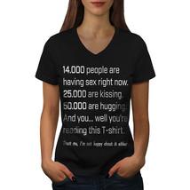 People Love Kiss Hug Shirt Funny Women V-Neck T-shirt - $12.99