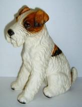 "Fabulous Vintage 9"" Fox Terrier Dog Figurine - Numbered - $29.99"