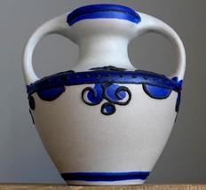 Vintage 60-70's MAREI KERAMIK Brügge 9302 Vase West German Pottery Fat L... - $29.69