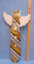 Hanging Decorative Hand Crafted Angel From A Me... - $9.49
