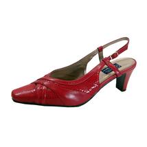 PEERAGE Eris Women's Wide Width Animal Print Leather Pumps SIZE 13 - $49.95