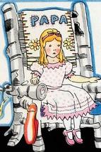 Goldilock tries Papa Bear's chair by Julia Letheld Hahn - Art Print - $19.99+