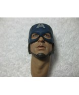 Captain A. First Avenger Head Sculpt w/ Neck Set 1/6th Scale MMS 156 - H... - $48.37
