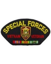 US Army Special Forces Vietnam Veteran SF Hat Patch - $8.42