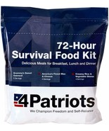 72-Hour Food Supply Kit Survival Emergency 16 Servings Delicious Freeze ... - $42.00