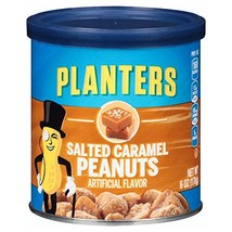 Planters Salted Caramel Peanuts, 6 oz Cans Pack of 8 - $21.66