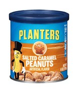 Planters Salted Caramel Peanuts, 6 oz Cans Pack of 8 - $22.30