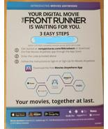 Front Runner (2018) Hugh Jackaman  Digital Code only NO DISCS  - $7.50