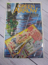 Green Arrow 1988 series # 16 comic book Bagged and Boarded - C488 - $1.99