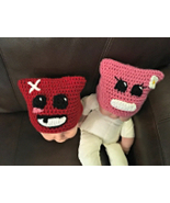 Halloween Costume Super Meat Boy and Bandage Girl Hat/Multi-Size - $20.00