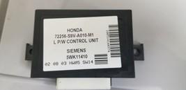 2003-2005 Honda Pilot Driver Side Oem Door Module 72256-S9V-A010-M1, 5WK11410 - $123.49