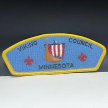 Minnesota Patch Viking Council Vintage Boy Cub Scouts Shoulder Badge Emblem Mn - $19.80