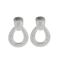 Big Punk Metal Drop Earring Female Fashion Geometric Statement Earrings ... - $7.90