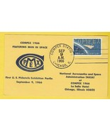 COMPEX 1966 FEATURING MAN IN SPACE CHICAGO IL SEPT 9 1966 POSTCARD - £2.15 GBP