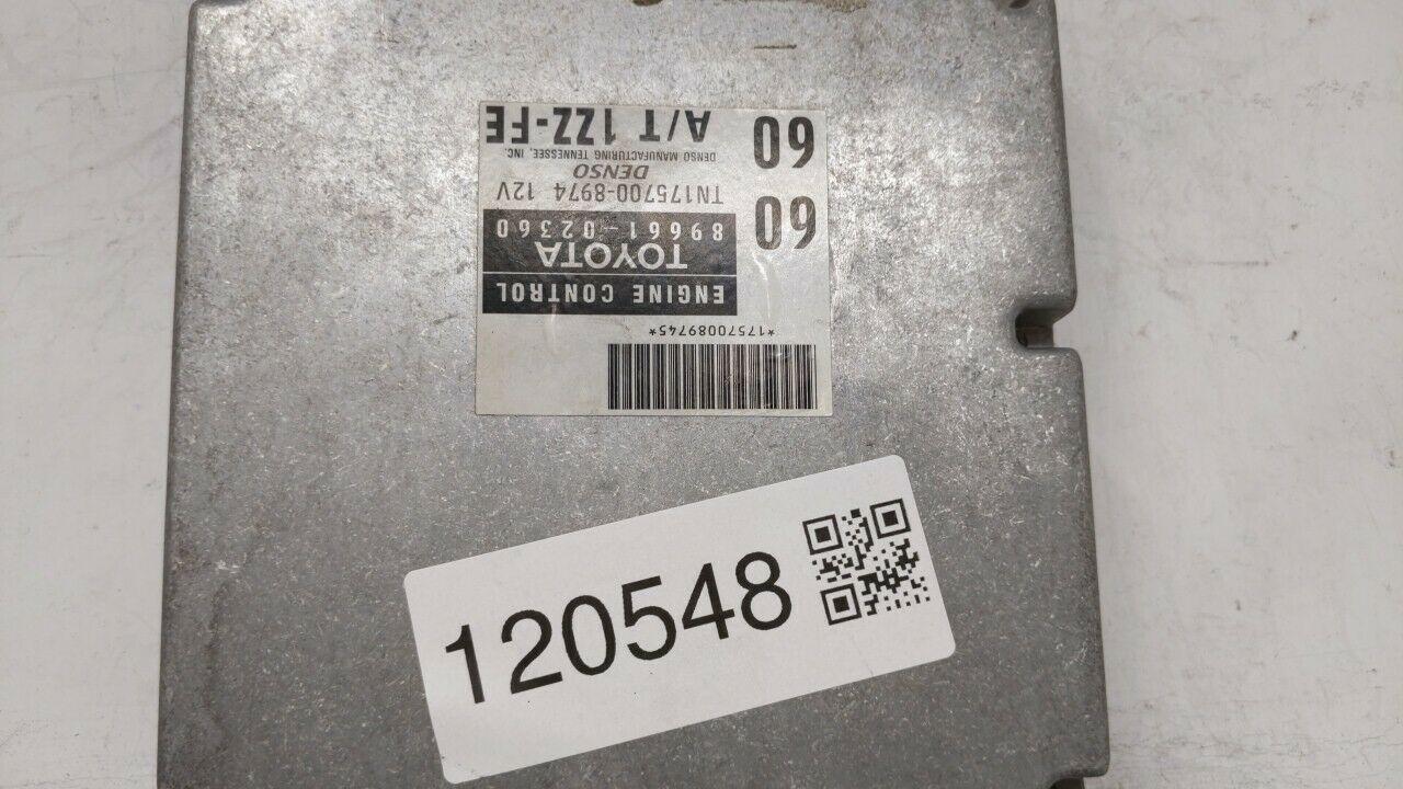 1998-1998 Chevrolet Prizm Engine Computer Ecu Pcm Ecm Pcu Oem 89661-02360 120548 - $30.77