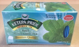 Flavoured Tea - Mint Flavoured Ketepa Pride Tea with fresh mint infusions - $3.85