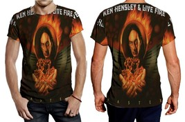 KEN HENSLEY FASTER ALBUM COVER TEE MEN - $21.80