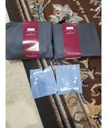 2 Delta Premium Select Soft Case Amenity Kits TUMI - Black + 2 Headphone... - $13.99