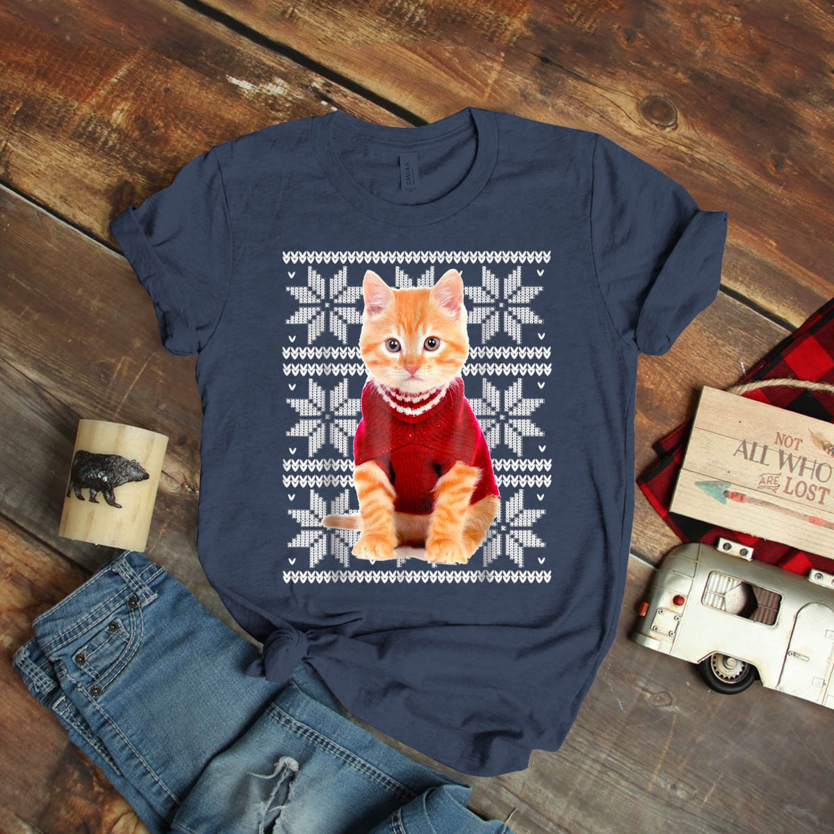 Ugly Birthday Cat: Ugly Christmas Cat Kitten Fur Mom Dad Funny Ideas Birthday