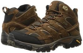 NEW Merrell Men's Moab 2 Mid Waterproof Hiking Boot, Earth, 10.5 W US - $148.49