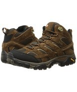 NEW Merrell Men's Moab 2 Mid Waterproof Hiking Boot, Earth, 10.5 W US - £117.34 GBP