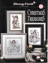 Stoney Creek Collection Christmas Treasures Cross Stitch Chart Book - $7.99