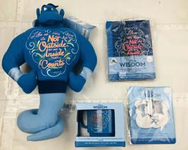 Disney Wisdom October Aladdin Collection Journal, Pins, Plush. Mug Brand... - $98.97