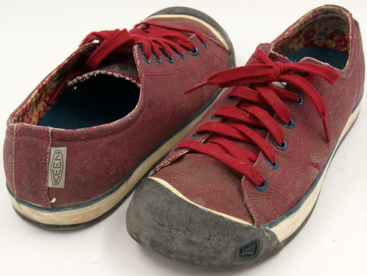 Keen Coronado Red Dahlia Women's Lace Up Shoes Sz 9.5 M image 2