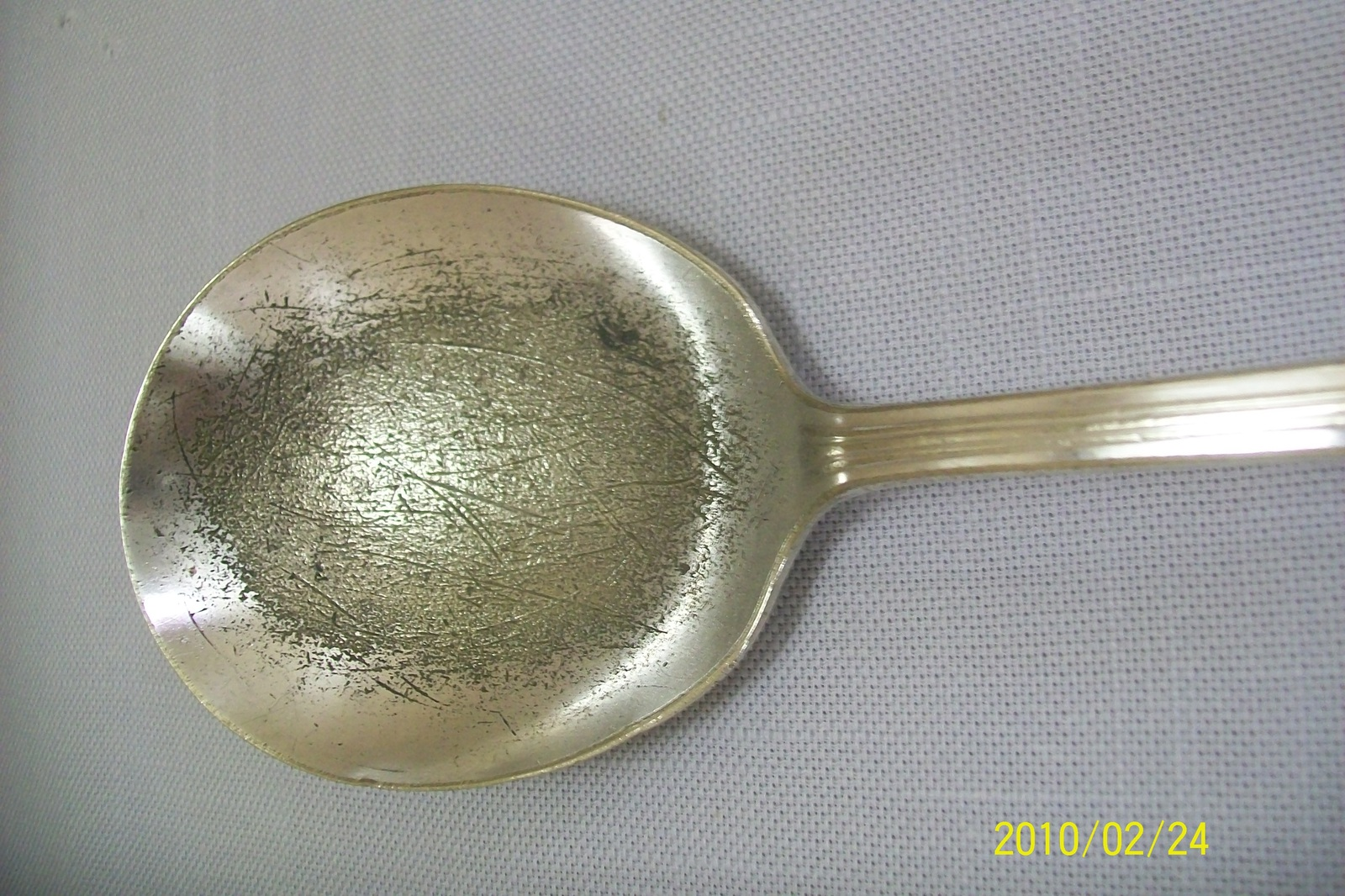 Silver Plate Serving Spoon & Cold Meat Fork Inheritance Wm Rogers 1941