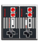 VIDEO GAME CONTROLLER CLASSIC NINTENDO NES DOUBLE LIGHT SWITCH COVER WAL... - $10.79