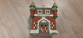 Department 56 Dickens Village Cobles Police Station 1989 Christmas Villa... - $25.00