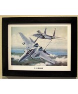 """Black Framed Print (12"""" X 16"""") of two F-15 Eagles in hot pursuit of thei... - $29.65"""