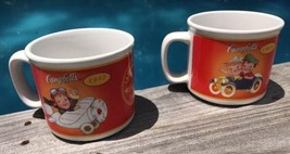 Vintage 2 Campbell's Kids Soup Mugs Collector 100 Years Anniversary 1904... - $39.16