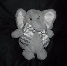 "7"" BEARINGTON BABY COLLECTION GRAY ELEPHANT STUFFED ANIMAL PLUSH TOY SOF... - $17.39"