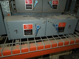 Frank Adam QSF-T1033 100A/100A Twin 3PH 240V Fusible Panelbaord Switch Unit - $600.00