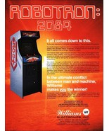 Video Arcade Game Stand-Up Display ROBOTRON 2084 - Missle Command Pacman - $15.99