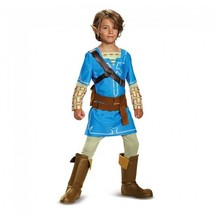 Disguise Legend Of Zelda Link Aliento de The Wild Lujo Niños Disfraz Hal... - $37.10