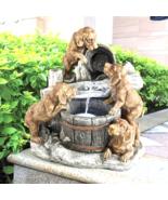 Puppy Pail  Pour Garden Fountain - $272.46