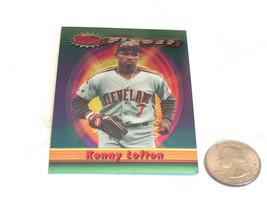 1994 topps finest #218 kenny lofton mlb 1993 cleveland indians sports ca... - $7.28