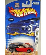 2003 Hot Wheels #30 First Editions 18/42  BUGATTI VEYRON Red/Black w/10 ... - $39.00