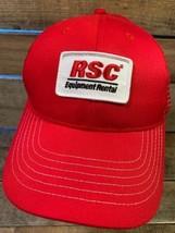 RSC Equipment Rental Patch Mesh Snapback Adult Cap Hat - $14.84