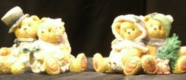 ENSCO Cherished Teddies Figurines with box ( pair)  AA19-2064 Vintage image 5