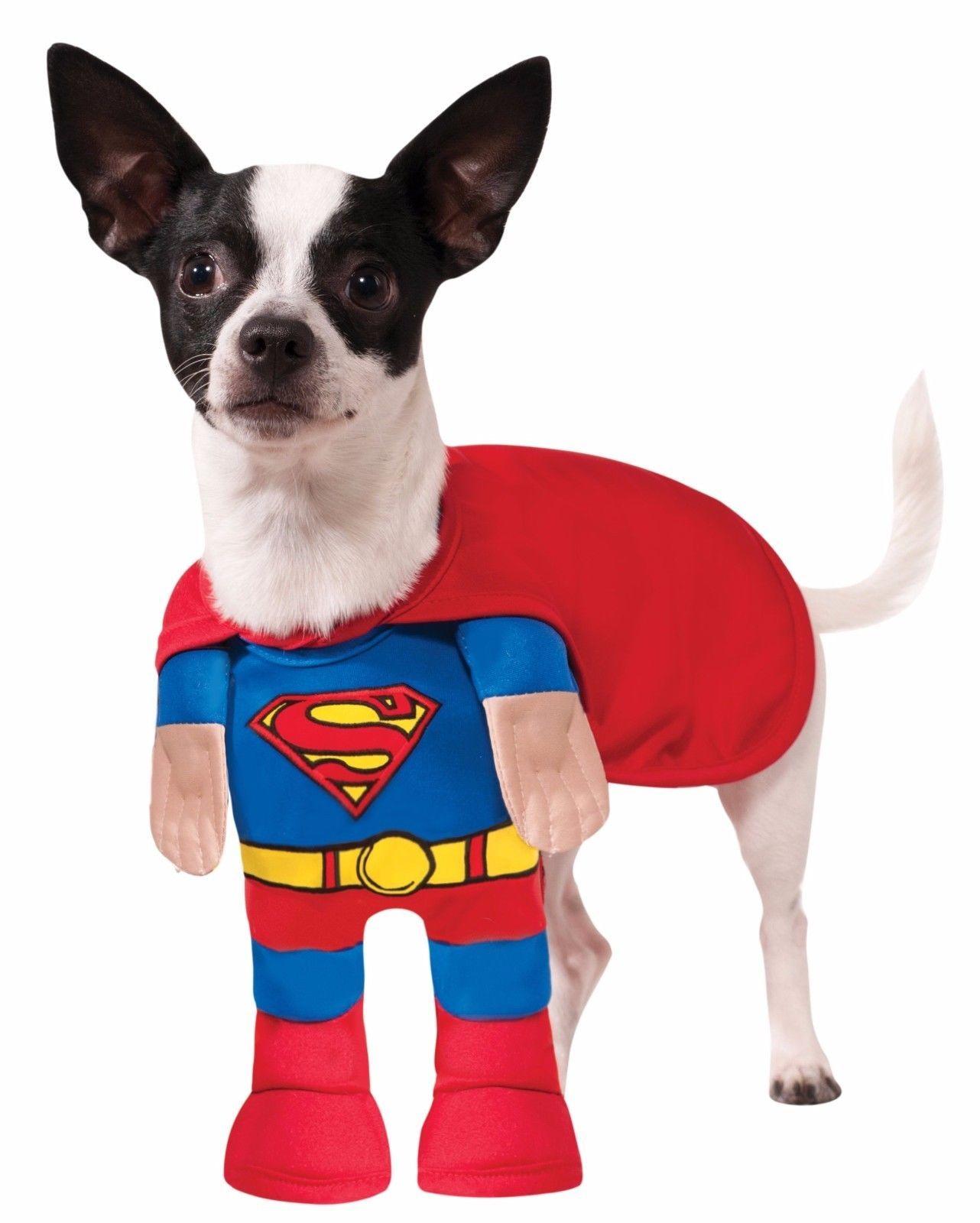 Rubies Superman Supereroe Animale da Compagnia Cane Costume Halloween 889225