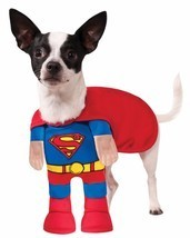 Rubies Superman Supereroe Animale da Compagnia Cane Costume Halloween 88... - $21.04